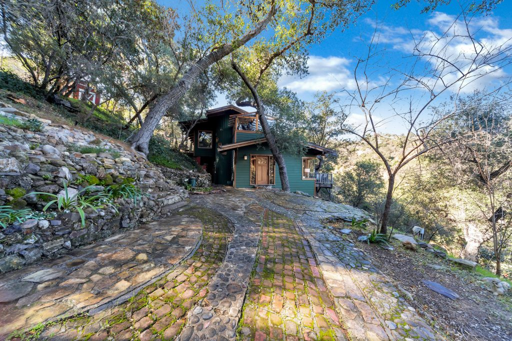 traditional Topanga Canyon Home
