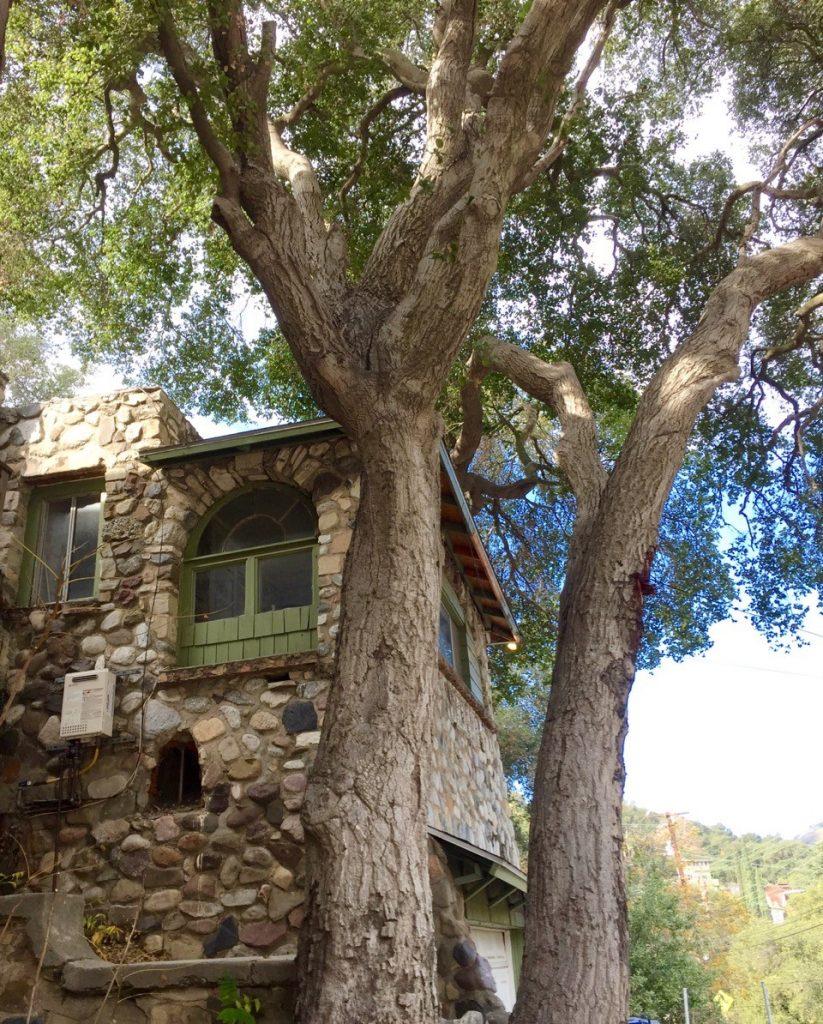 Stone house Topanga Canyon