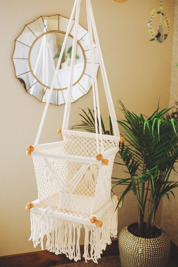 children's swing chair macrame