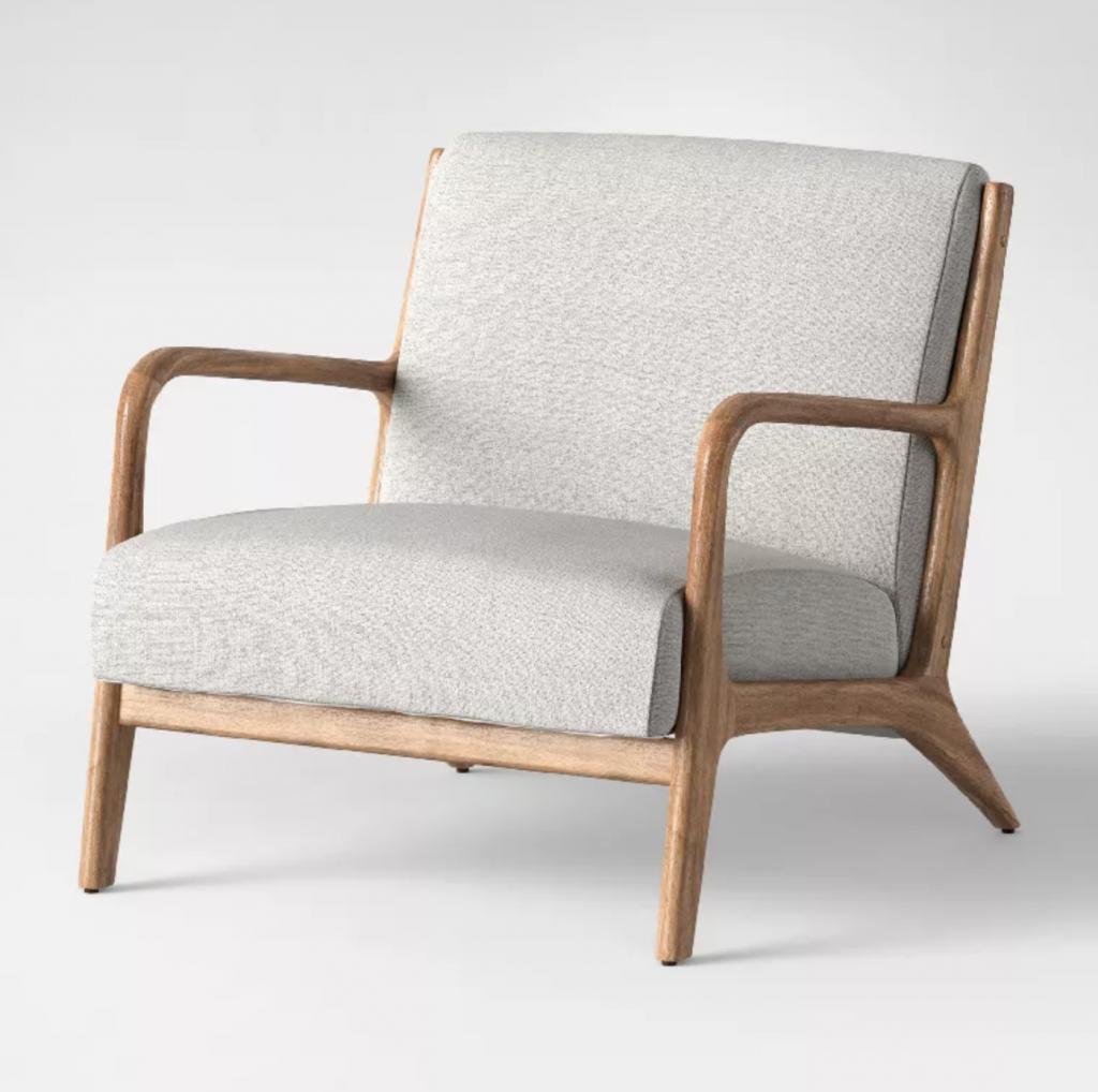 midcentury modern arm chair target